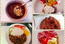 Food challenge - weight loss diet / My new challenge: 10 - 12 weeks weight loss diet made specially for me. It looks like lot of food but it is right amount and every meal has its own sense in my diet.