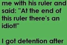 Twisted humor