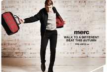 Walk to a different beat - Merc AW14 / by Merc