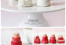 Kitchen tea and wedding cakes