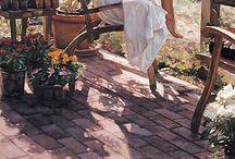 Steve Hanks paintings