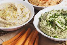 Raw food hummus