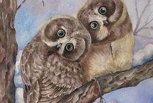 Owl Art ♥