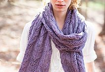 Knitting patterns - Scarves