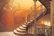 Art Nouveau, Romanesque, Baroque & Gothic