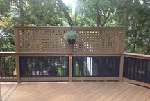 Privacy deck