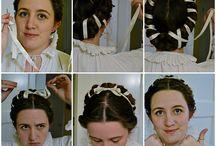 Włosy i biżuteria-historycznie.