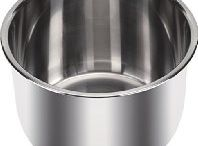 Best Instant Pot Inner Pot /  Best Instant Pot 6L, 6.33qt Stainless Steel Inner Pot Review  Best Instant Pot Inner Pot is made from the durable 18/8 stainless steel. It has a bottom that has 3-ply construction, and it allows even hitting. The surface of the pot is polished, so it is pretty easy to clean as the food does not stick to it. It lets you prepare multiple meals with your electric pressure cooker. Read More. http://bestelectricpressurecooker.net/best-instant-pot-inner-pot/
