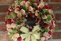 Gaye Mackie / Christmas wreaths