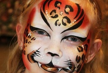 I love wild animal face paint