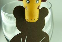 Petits animaux rigolos / Animez votre décoration de table à l'aide de petites coccinelles, animaux de la savane ou autres drôles d'oiseaux !