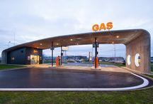 Gas Station / Technológia a dizajn