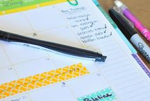 Planning and calendars