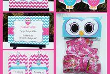 Owl Birthday Parties