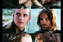 The lord of the Rings - Legolas and Aragorn