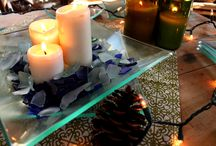 Holiday Table Settings / Let Bottles & Wood help you create the perfect Holiday settings for your joyful table
