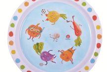 Dítě a jídlo / Dětské nádobí