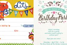 Gift tags, Invites, Party etc