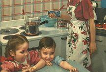 Vintage cookbooks / by Kathy Miller