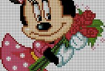 Cross stitch - Minnie