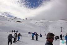 Valle Nevado - Chile / Valle Nevado é um centro de esqui chileno situado na Cordilheira dos Andes, a 46 quilomêtros da cidade de Santiago // Valle Nevado (Snowy Valley) is a ski resort located in the Andes Mountains, at 46 km to the east of Santiago, the capital of Chile.