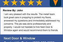 Next Door and Window Reviews