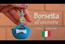 Crochet keyrings
