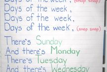 Days of the week/month