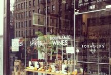 Peek into Foragers Wines / We love curating biodynamic, organic, and delicious wines at our shop in Chelsea.