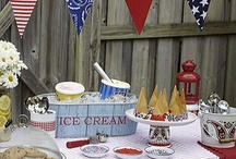 Red, White And Blue Ideas / by Teresa Woodruff
