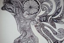 The art of Zentangles