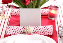 Set the Table for Valentines Day