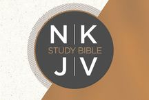 NKJV / The New King James Version is an up-to-date translation of the Bible by devout scholars, which maintains as much of the beauty of the King James Version as possible, increases the accuracy, and makes the meaning as clear as possible for today's reader.  There are several other good modern Bible translations available, but none does a better job of presenting the accuracy, beauty, and clarity that Bible readers need than the New King James Version.