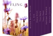 Fling / Fling is a New Adult box set with 7 short stories for the price of one.  Seven authors have come together to create short stories that touch your heart.   / by Elena Dillon