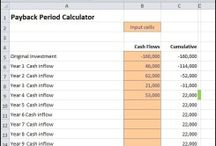 Payback Period Calculator