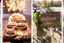 Przyjęcie weselne w stylu rustykalnym / Pomysły na organizację ślubu i wesela w stylu rustykalnym
