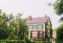 Monet's house, gardens, and paintings