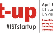 IST Start-up Week / Exceptionally talented young entrepreneurs from around the country, including  alumni from Penn State's College of Information Sciences and Technology (IST), will be visiting Penn State to share their strategies for success during IST's Start-up Week, taking place April 9 -13.  Most of the week's events are open to the entire Penn State community #iststartup / by Melissa Hicks