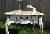 Inspired Findings / My furniture makeovers and creations