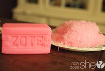 Cleaning products & ideas / homemade cleaning products & how to's