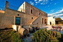 Masseria Le Fabriche, Puglia / Vineyards by the sea http://www.italytraveller.com/en/z/le-fabriche #ItalyTraveller