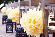 Casamento - decoracao amarelo