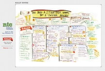 Graphic Recordings & infographics / Visual but informative eye candy.