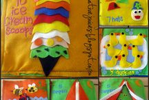 Quiet Book / Felt Ideas / by Bonnie Mullis