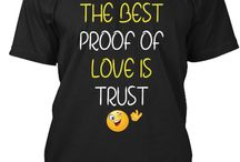 love is trust / the best proof of love is trust