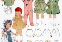Doll Clothes Vintage Patterns / by Edna Boland