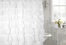 Neutral Shower Curtains for Every Bathroom / Shower curtains in white, beige, ivory, frosted, and clear. We have a huge selection of both fabric and vinyl shower curtains. (Our website has even more- really.)  You'll find Modern, Shabby Chic, Lace, Clear, Extra Long, Luxurious, Cheap, Elegant, Romantic, and Whimsical curtains.