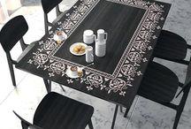 baskılı masa