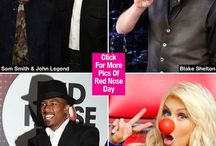 Red Nose Day: Kim Kardashian & More Celebs Celebrate
