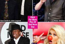 Red Nose Day: Kim Kardashian & More Celebs Celebrate